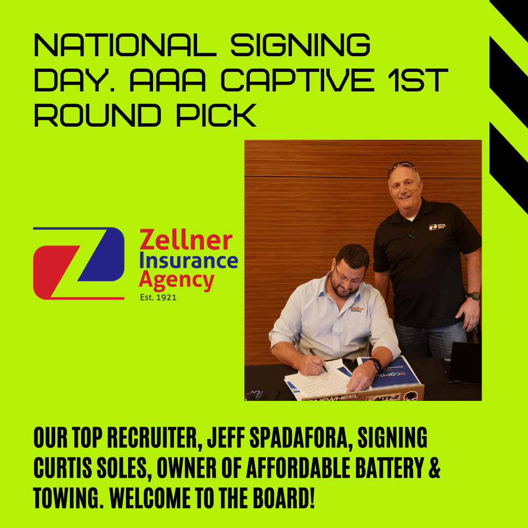 AAA Captive Signing
