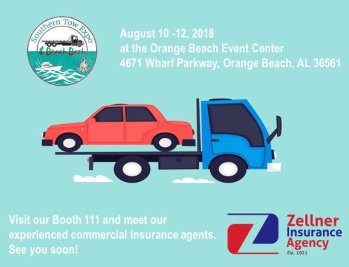 Zellner is attending the 2018 Southern Tow Expo in Orange Beach, AL. Visit us at Booth 111