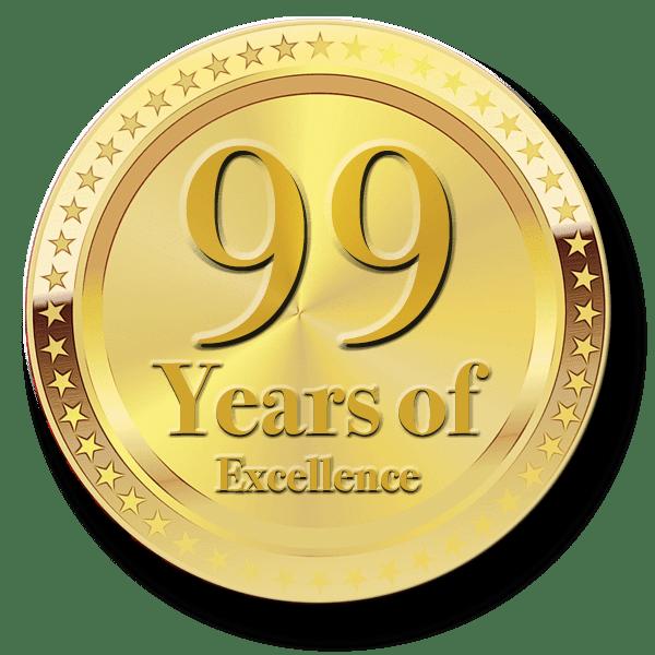 99 Year Medal