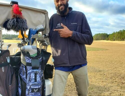 The One Armed Golfer – Gabriel George